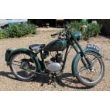 A 1960 Excelsior 98cc Consort, registration No. 665 WYK, engine No.606B14106, frame 41/11767, with