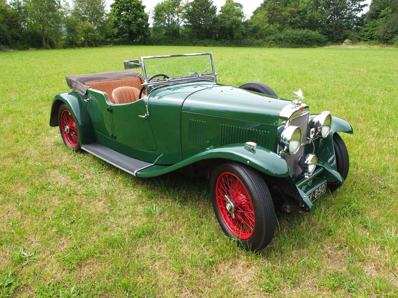 1934 Alvis Firefly Tourer Registration No: AFY 850, Chassis No: 11092, Odometer 20143, Cross & Ellis