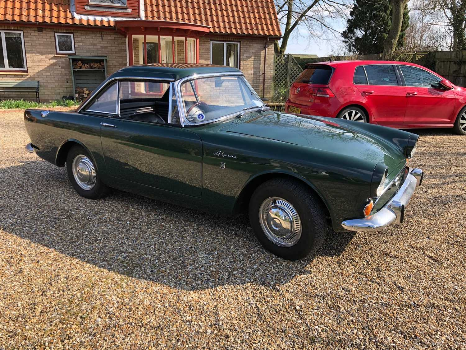 A 1968 Sunbeam Alpine Series V GT Reg No. NLY978F Chassis No. B395016307GTOD Green with Black