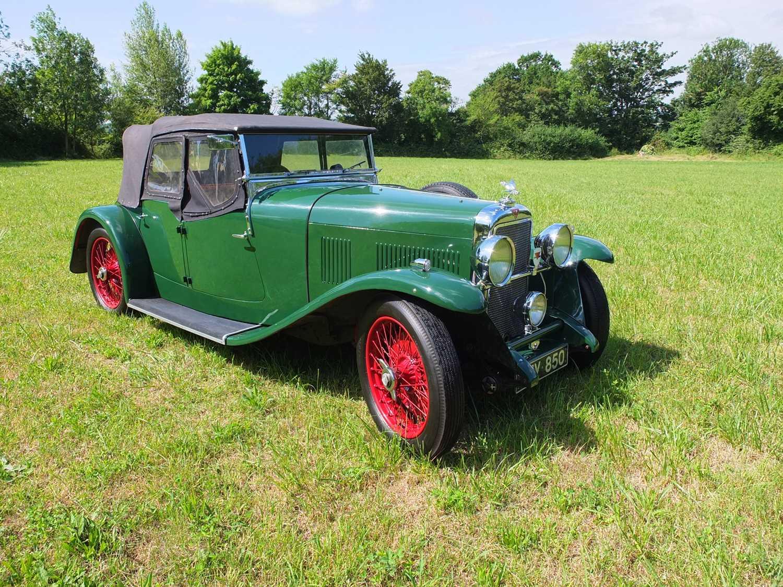 1934 Alvis Firefly Tourer Registration No: AFY 850, Chassis No: 11092, Odometer 20143, Cross & Ellis - Image 10 of 28