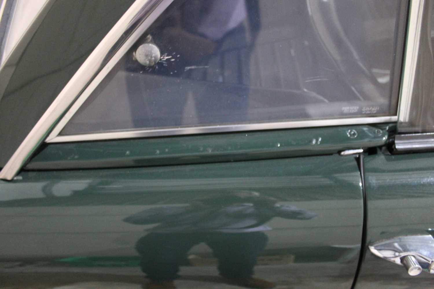 A 1968 Sunbeam Alpine Series V GT Reg No. NLY978F Chassis No. B395016307GTOD Green with Black - Image 33 of 43