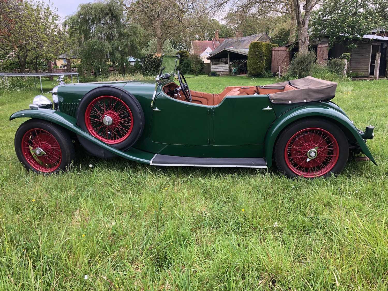 1934 Alvis Firefly Tourer Registration No: AFY 850, Chassis No: 11092, Odometer 20143, Cross & Ellis - Image 6 of 28