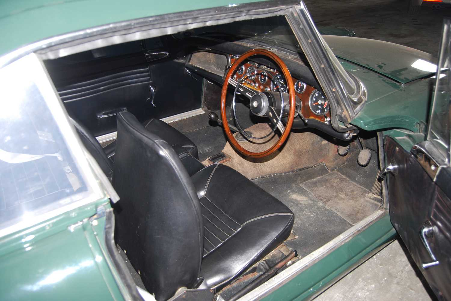 A 1968 Sunbeam Alpine Series V GT Reg No. NLY978F Chassis No. B395016307GTOD Green with Black - Image 13 of 43