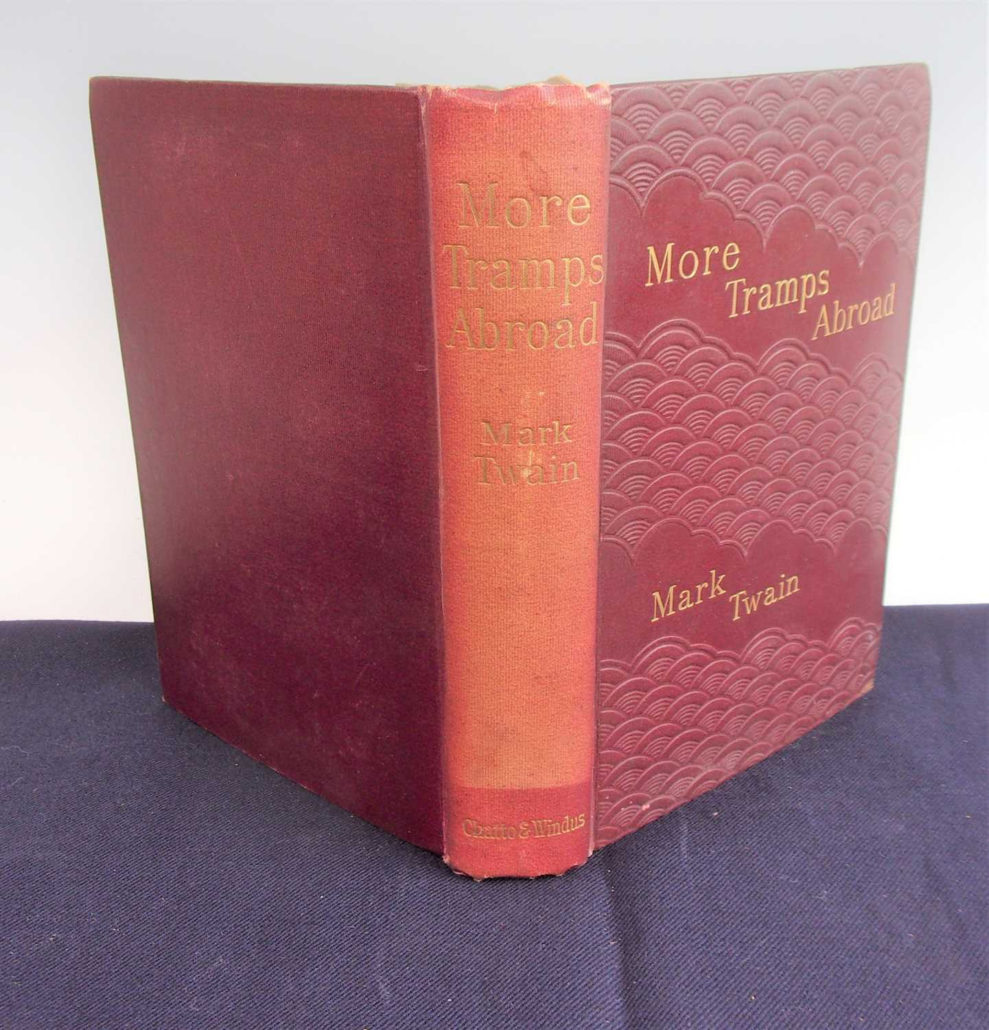 TWAIN, Mark. More Tramps Abroad. Chatto & Windus, London. 1897 UK 1st Edition. In original - Image 2 of 3