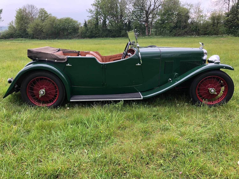 1934 Alvis Firefly Tourer Registration No: AFY 850, Chassis No: 11092, Odometer 20143, Cross & Ellis - Image 14 of 28