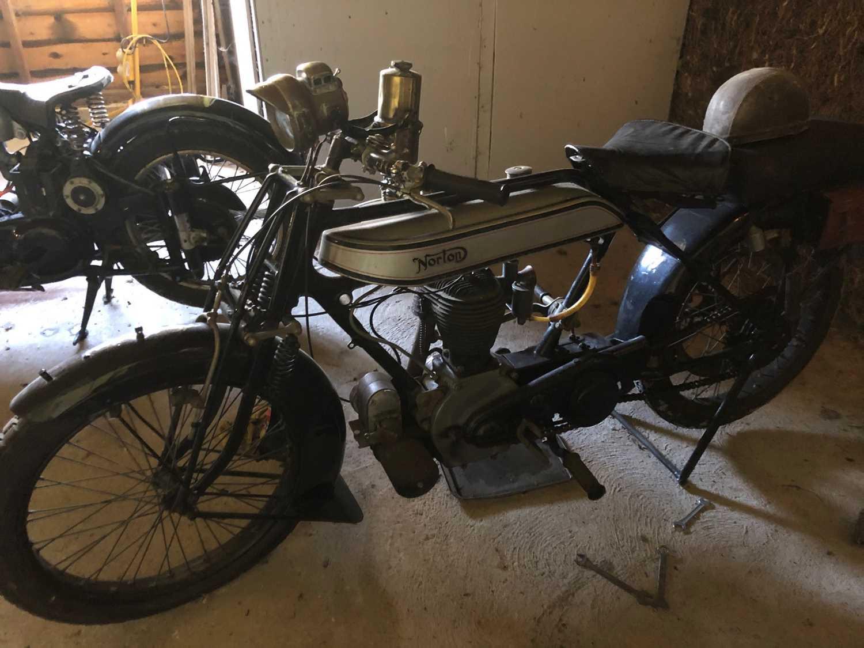 A 1921 Norton Model 1 Big Four 6, engine No. BA2667, frame number 4674, single cylinder side valve - Image 17 of 20