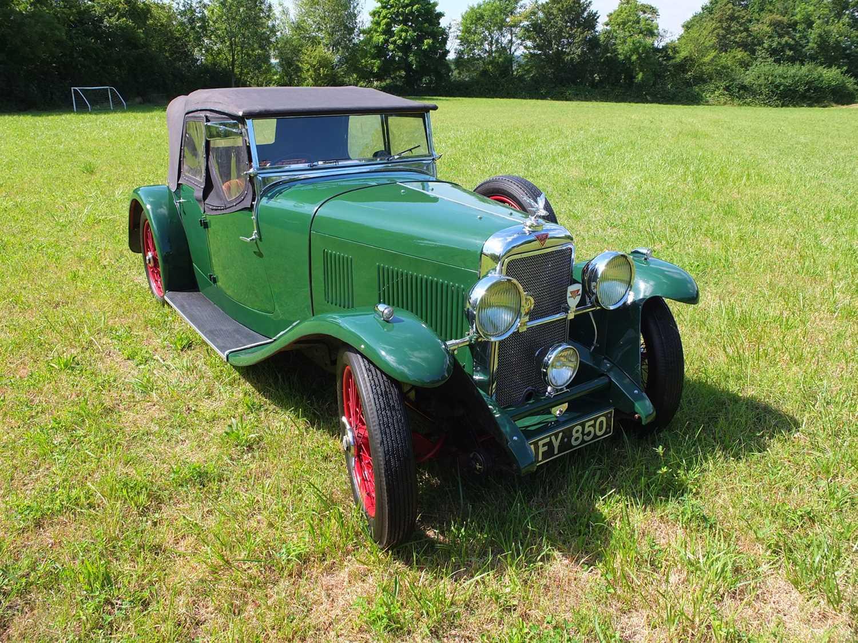 1934 Alvis Firefly Tourer Registration No: AFY 850, Chassis No: 11092, Odometer 20143, Cross & Ellis - Image 9 of 28