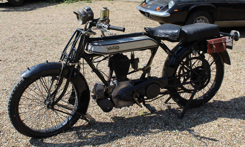 A 1921 Norton Model 1 Big Four 6, engine No. BA2667, frame number 4674, single cylinder side valve - Image 3 of 20