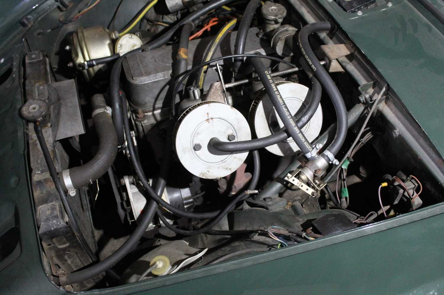 A 1968 Sunbeam Alpine Series V GT Reg No. NLY978F Chassis No. B395016307GTOD Green with Black - Image 42 of 43