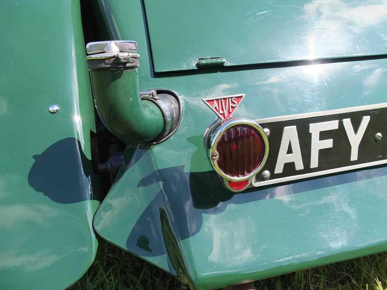 1934 Alvis Firefly Tourer Registration No: AFY 850, Chassis No: 11092, Odometer 20143, Cross & Ellis - Image 27 of 28