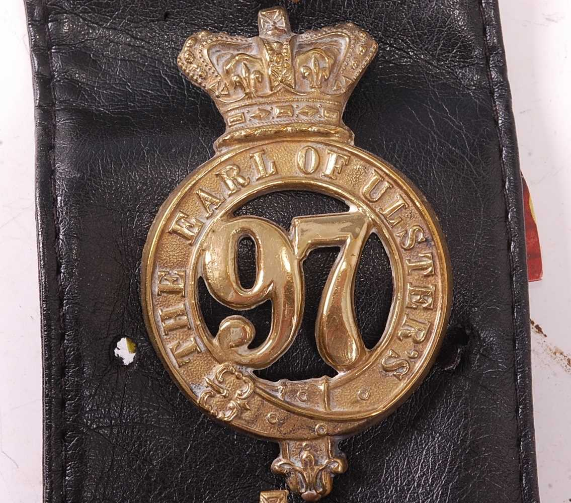 A collection of various British Regiment of Foot Glengarry badges to include 106th Bombay Light - Image 4 of 18