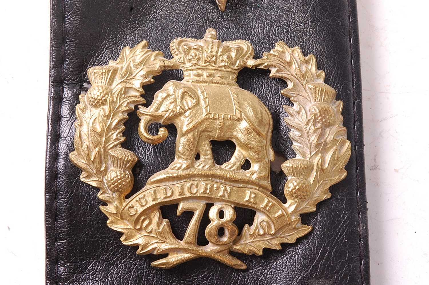 A collection of various British Regiment of Foot Glengarry badges to include 106th Bombay Light - Image 10 of 18