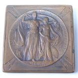 Louisiana Purchase Exposition 1904, also known as The St Louis World Fair, silver award medal (in