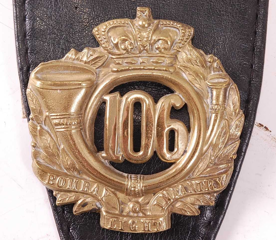 A collection of various British Regiment of Foot Glengarry badges to include 106th Bombay Light - Image 2 of 18
