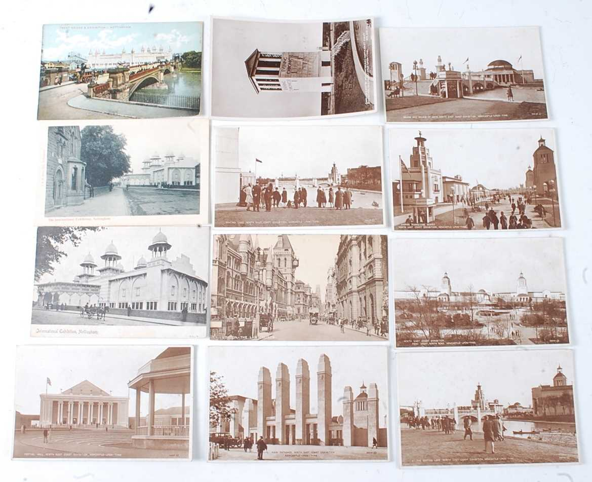 A large collection of 1951 Festival of Britain postcards, seemingly arranged by places or publishers - Image 7 of 9