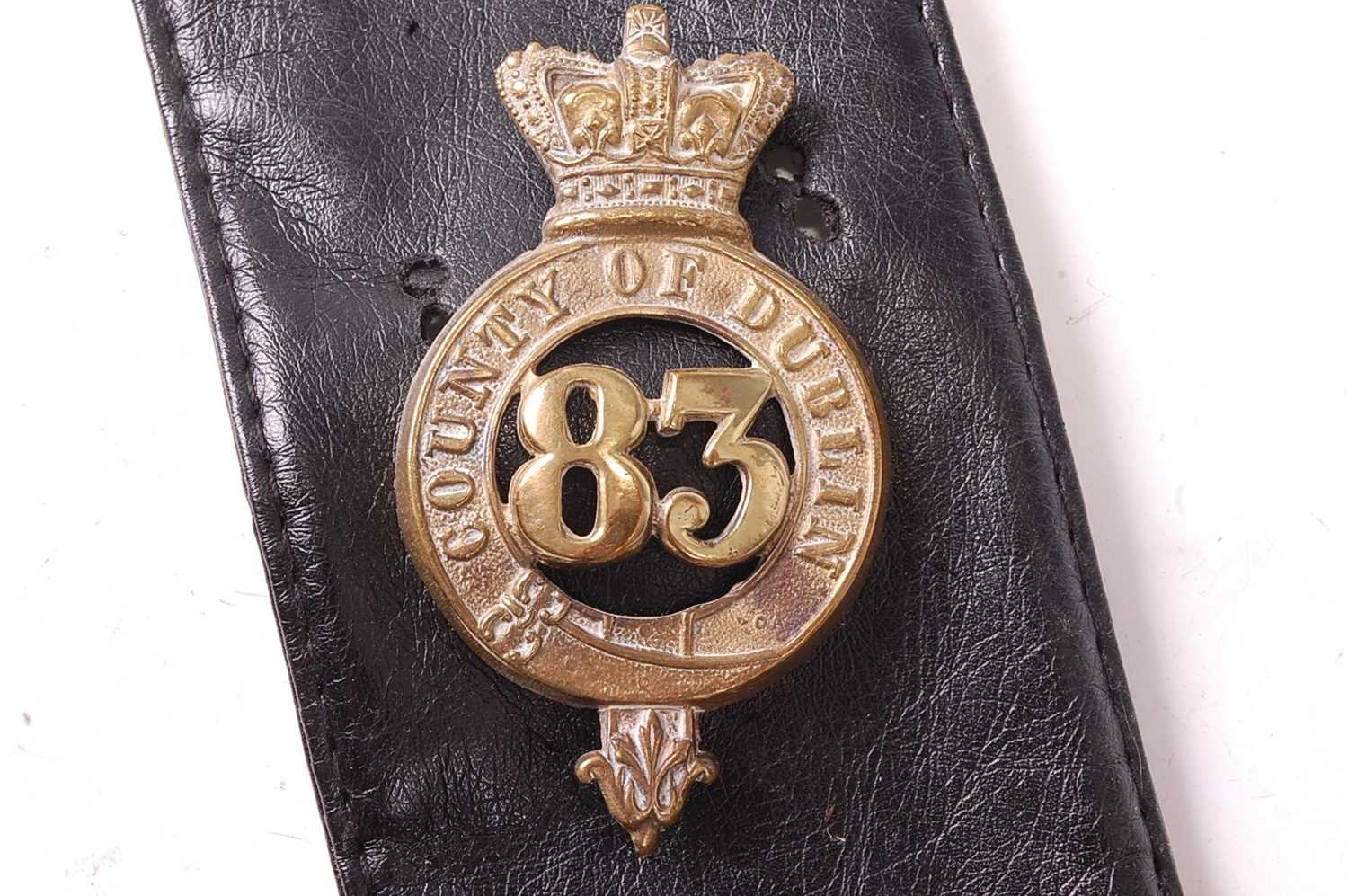 A collection of various British Regiment of Foot Glengarry badges to include 106th Bombay Light - Image 8 of 18
