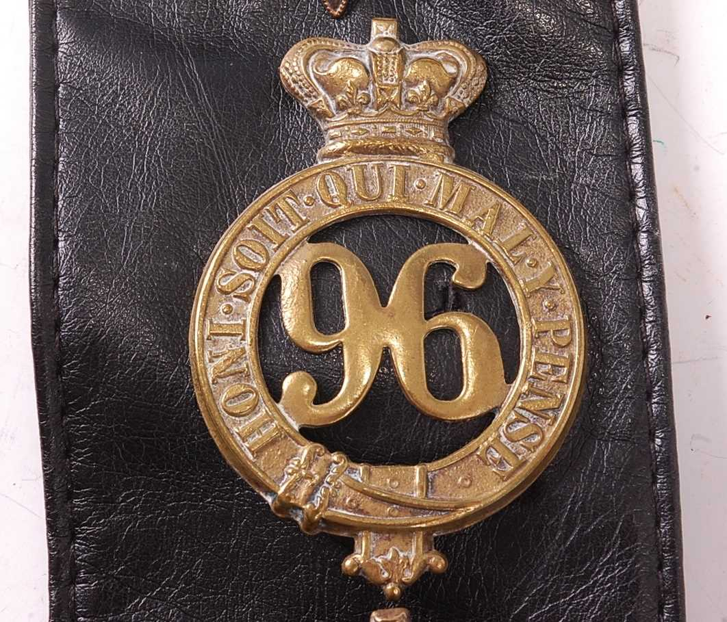 A collection of various British Regiment of Foot Glengarry badges to include 106th Bombay Light - Image 5 of 18