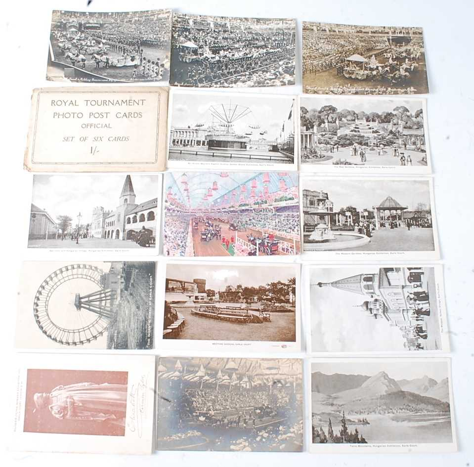 A large collection of 1951 Festival of Britain postcards, seemingly arranged by places or publishers - Image 3 of 9