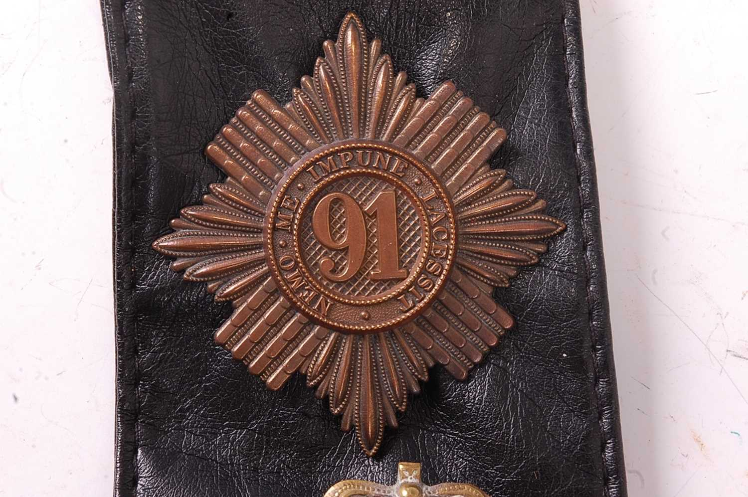 A collection of various British Regiment of Foot Glengarry badges to include 106th Bombay Light - Image 6 of 18