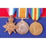 A WW I trio to include 1914-15 Star, naming 47936 BMB R. G. GRAHAM. R.F.A., British War and Victory,