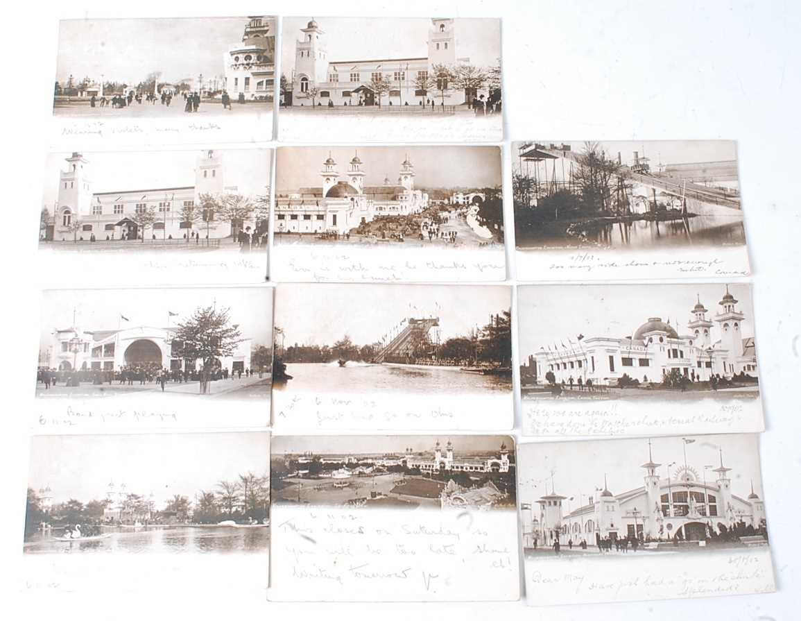 A large collection of 1951 Festival of Britain postcards, seemingly arranged by places or publishers - Image 4 of 9