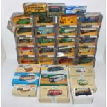 A large quantity of 33 boxed, mainly Corgi Classic models, includes many Bedford O series