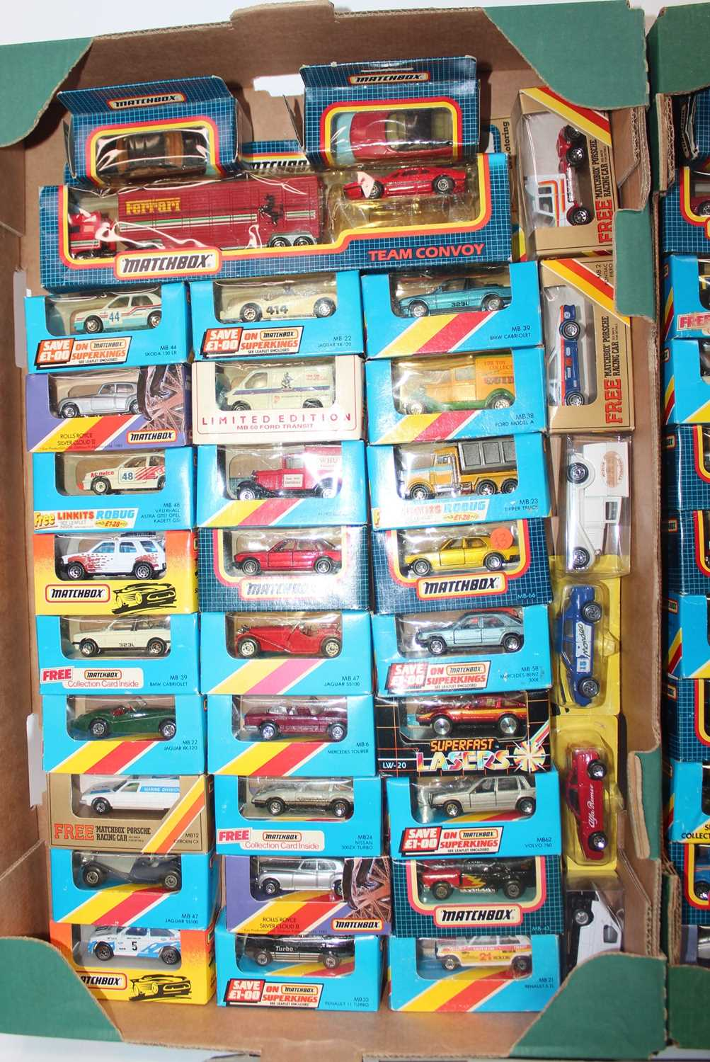 Matchbox group of 100+ models on cards or in boxes (some opened, packaging needs attention and - Image 2 of 4