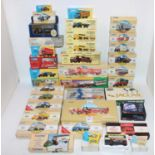 Two boxes containing a large quantity of mixed boxed Corgi Classics and Corgi modern issue diecast