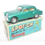 Spot-On by Triang, No.101 Armstrong Siddeley Sapphire 236, metallic green body, comes in an original