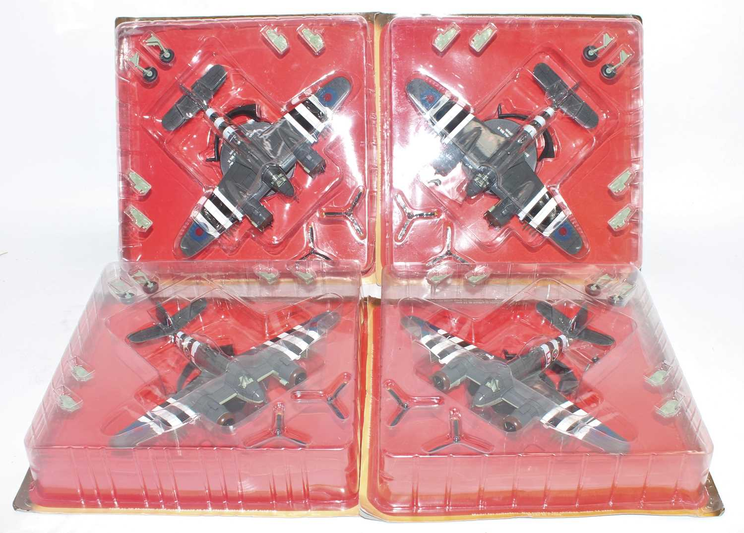 Thirty-eight various blister packed Altaya mixed scale diecast aircraft, all appear as issued, mixed - Image 5 of 5
