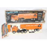 Nikko of Singapore No.80001 18-Wheeler Heavy Trucker, finished in orange and black and housed in the