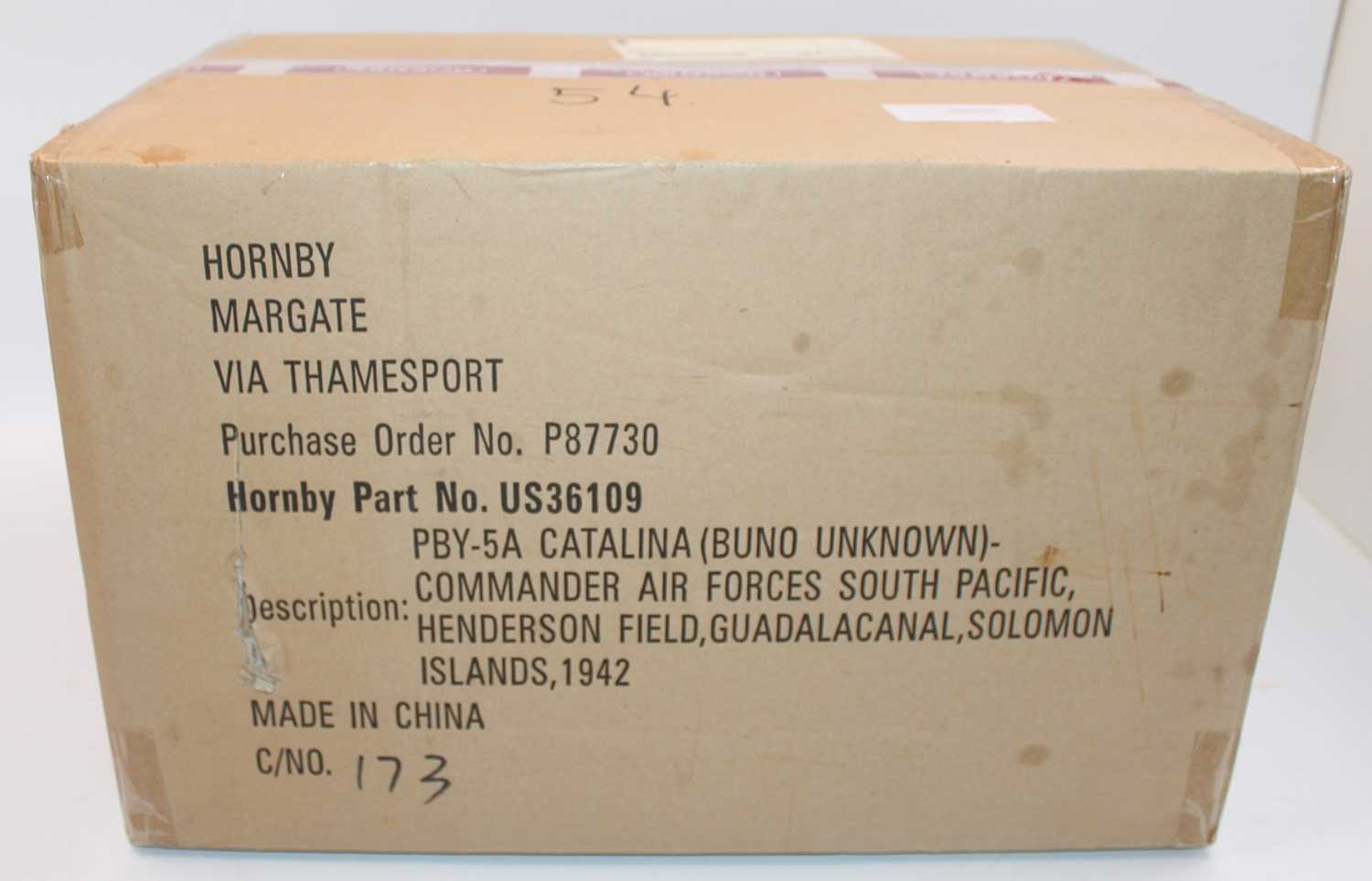 A Corgi Aviation Archive factory sealed trade box containing two US 36109 PBY-5A Catalina Buno
