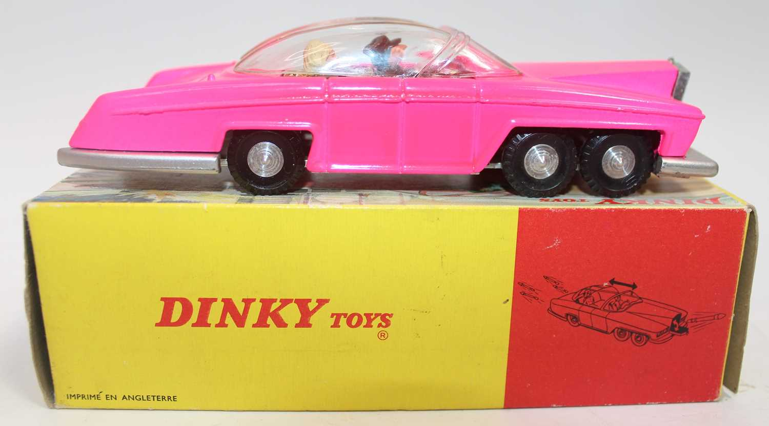 Dinky Toys Boxed 100 Lady Penelopes FAB 1 From TV series 'Thunderbirds' in the rarer fluorescent - Image 6 of 7