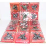 40+ various carded and loose Altaya 1:72 military aircraft diecasts, the majority appear as issued