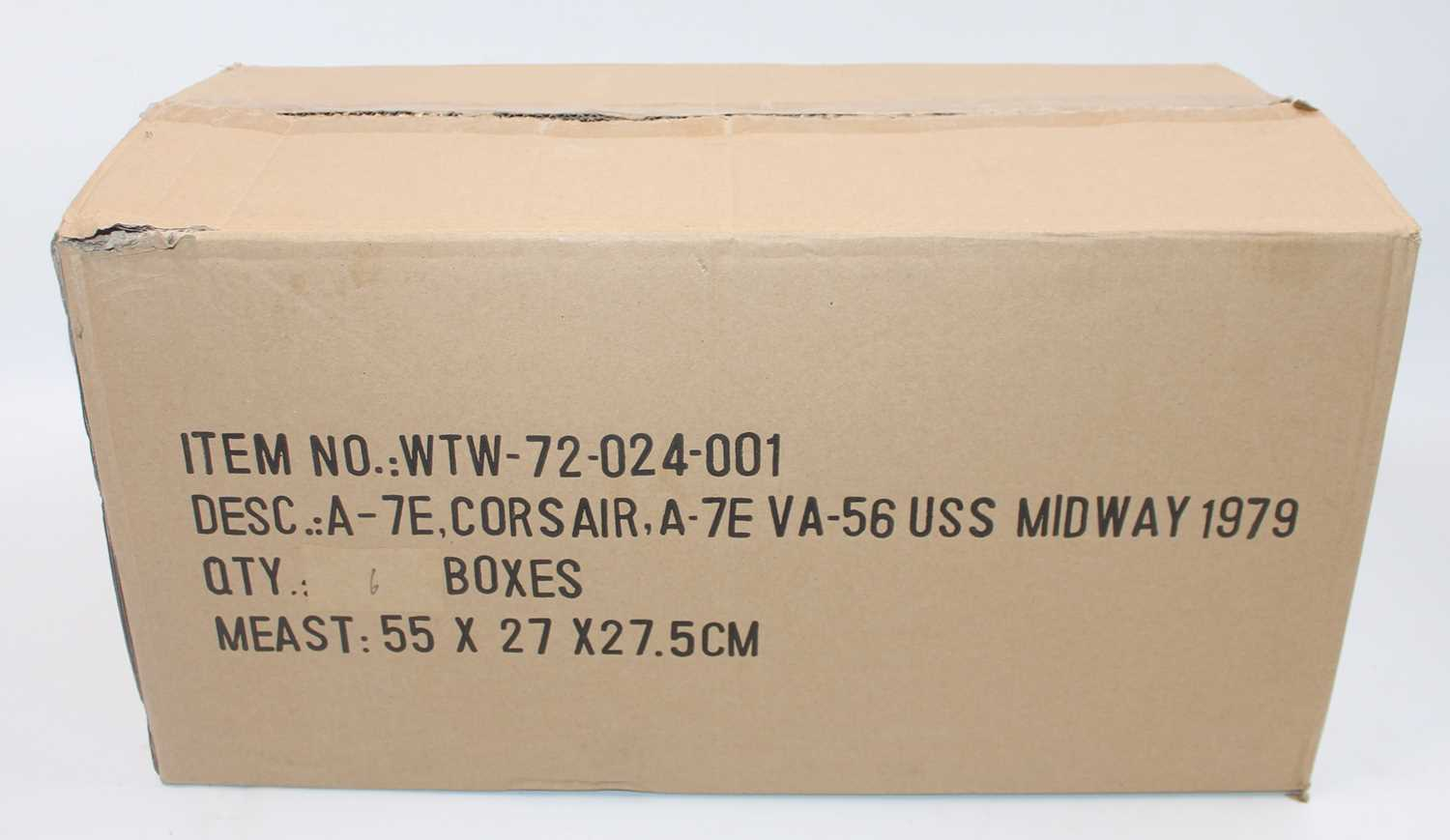 A Sky Guardians/Witty Wings, trade box of six limited edition 1:72 scale A-7E Corsair II VA-56 - Image 2 of 2