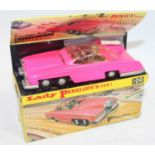 Dinky Toys Boxed 100 Lady Penelopes FAB 1 From TV series 'Thunderbirds' in the rarer fluorescent