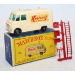 Matchbox Lesney 1-75 Series No.62b Commer TV Service Van in deep cream body, 'Rentaset' decals,