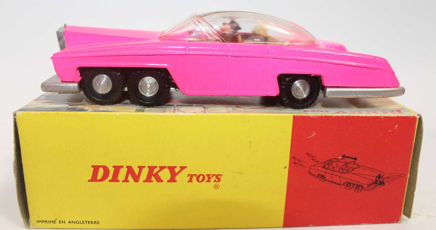 Dinky Toys Boxed 100 Lady Penelopes FAB 1 From TV series 'Thunderbirds' in the rarer fluorescent - Image 7 of 7