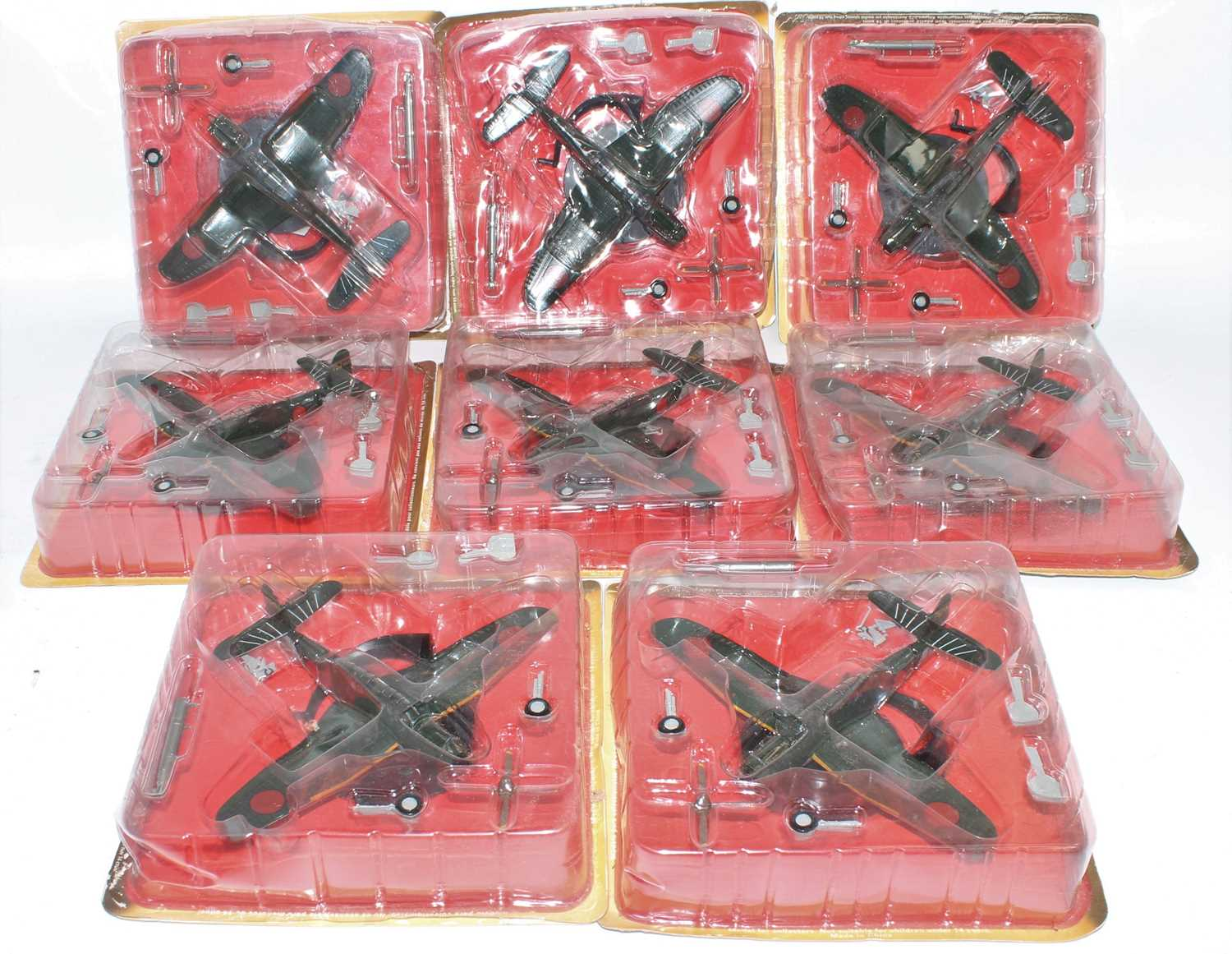 Thirty-eight various blister packed Altaya mixed scale diecast aircraft, all appear as issued, mixed - Image 4 of 5