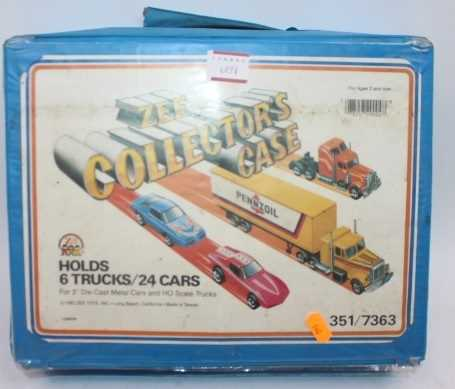 Matchbox style Carry case of 47 mixed loose, mainly Matchbox, Corgi, and Siku models in fair to good - Image 2 of 2