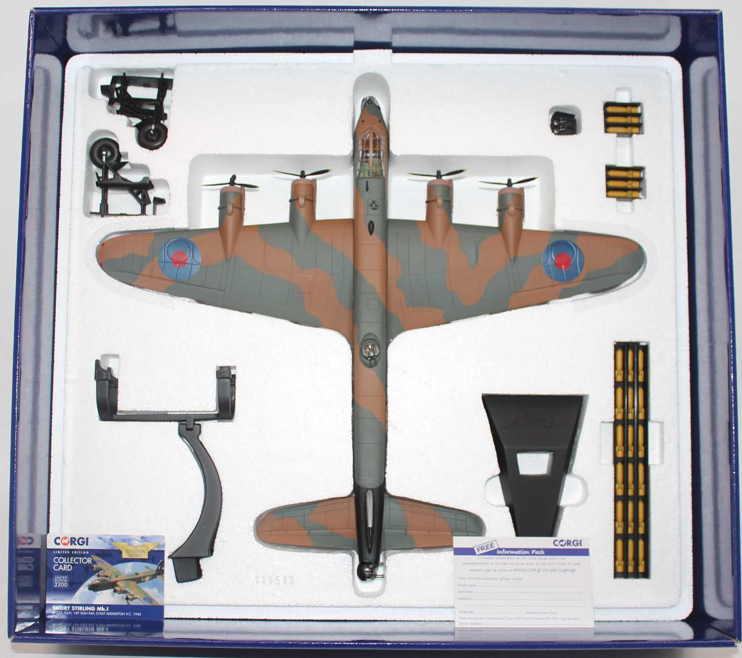 A Corgi Aviation Archive model No. 39502 1/72 scale limited edition diecast model of a Short - Image 2 of 2