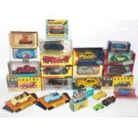 One tray containing a quantity of mixed Volkswagen related diecast vehicles and tinplate models to
