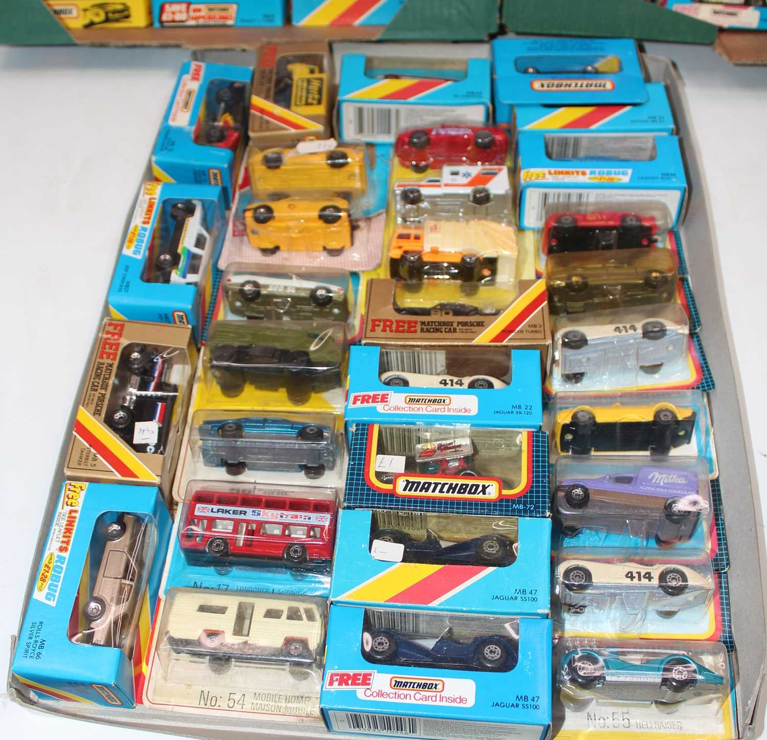 Matchbox group of 100+ models on cards or in boxes (some opened, packaging needs attention and - Image 4 of 4