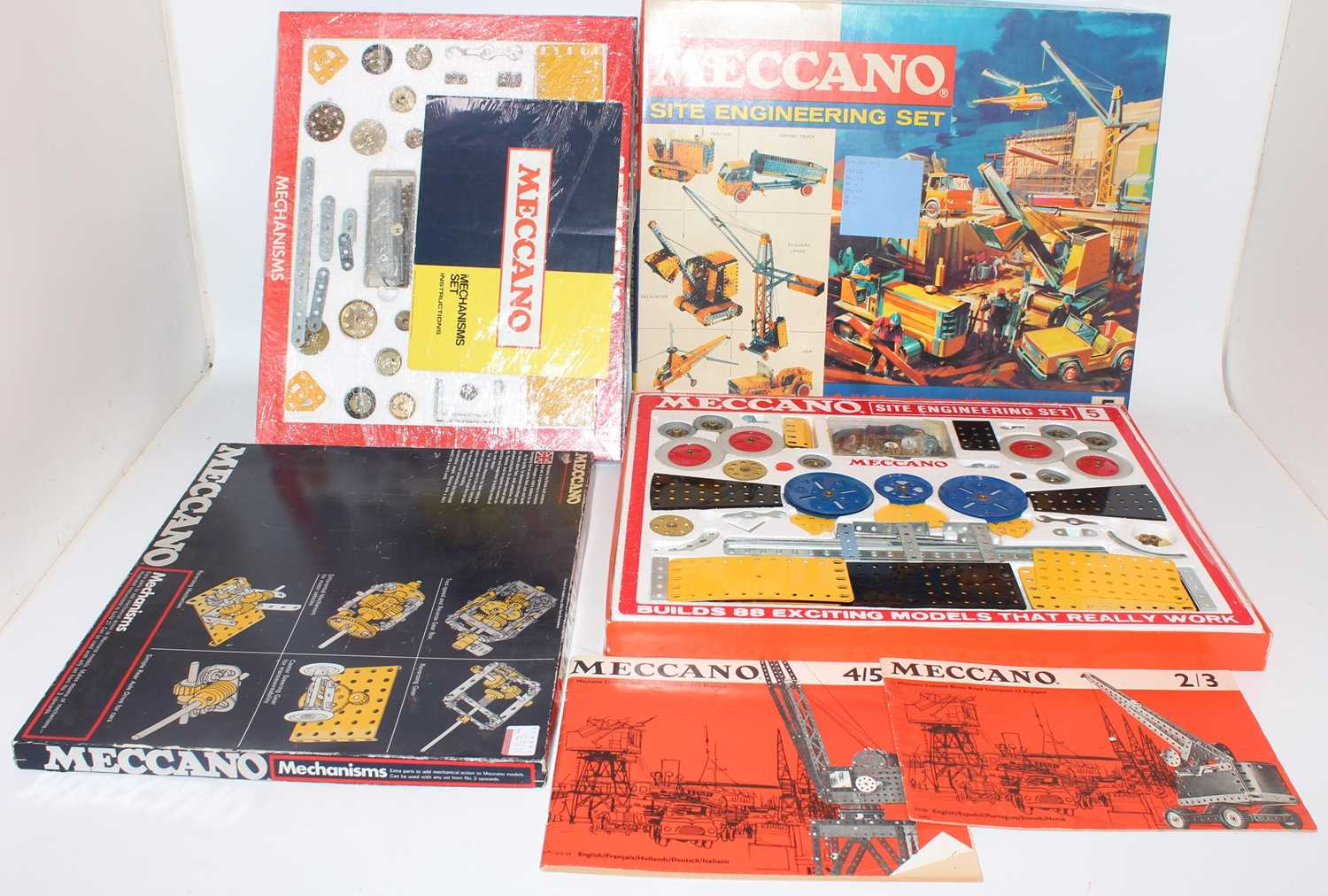 A collection of Meccano mixed issue construction kits and empty boxes to include a Meccano Super - Image 2 of 4