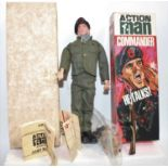 An Action Man catalogue No. 34009 Talking Commander, comprising of hand-painted plastic doll with