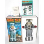 Masudaya (Hobbyworld) 1/5th scale replica model of a Battery Operated Robot YM-3, talking figure