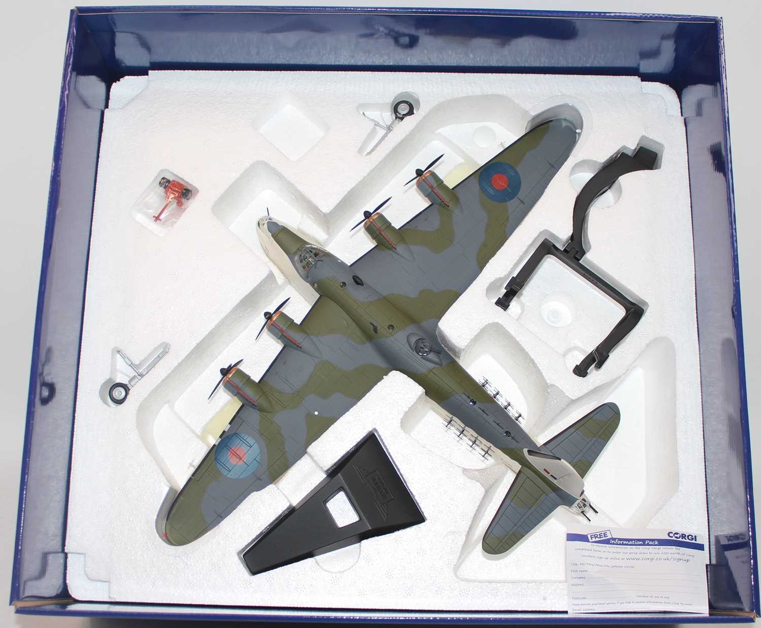 A Corgi Aviation Archive model No. AA27501 1/72 scale limited edition diecast model of a Short - Image 2 of 2
