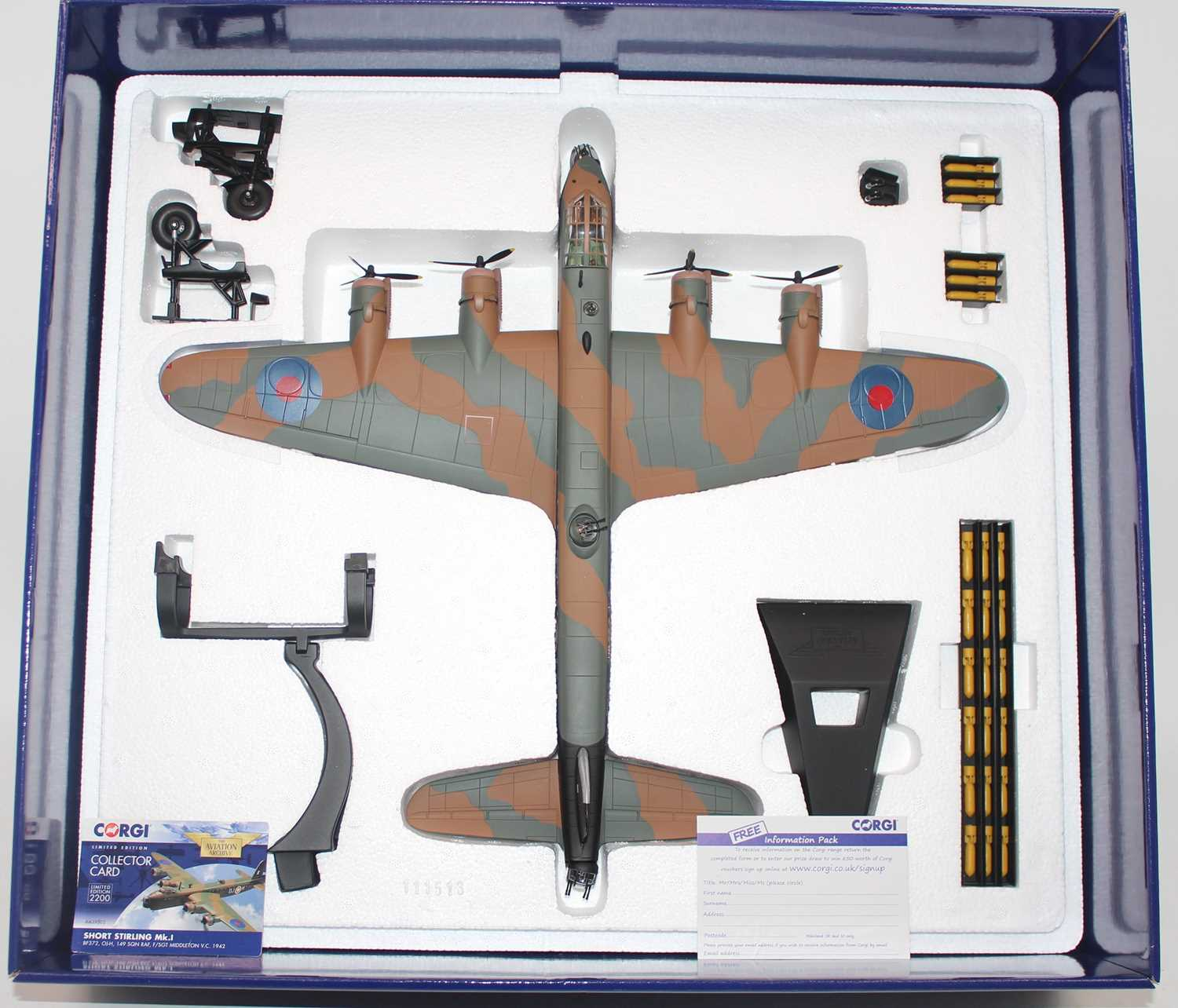 A Corgi Aviation Archive model No. AA39502 limited edition 1/72 scale diecast model of a Short - Image 2 of 2