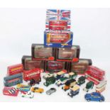 1 box of mixed public transport and commercial, mainly modern issue to include EFE, Corgi,