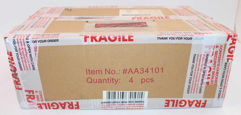 A Corgi Aviation Archive trade box containing four boxed No.AA34101 Blackburn Buccaneer S. MK2